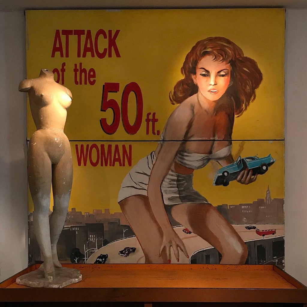 50 Foot Woman Painting