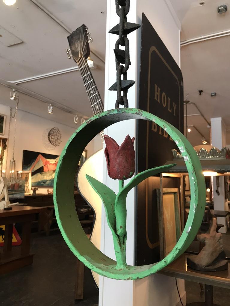 Hanging Tulip Sculpture