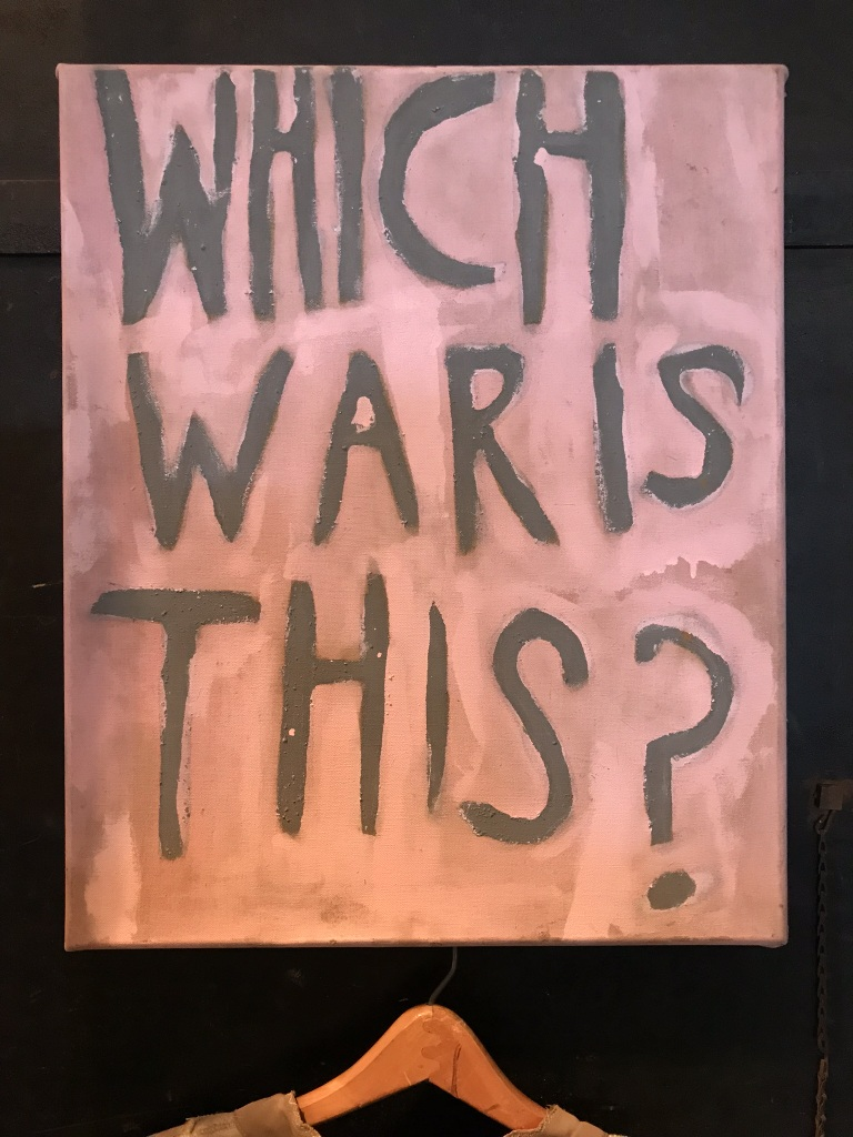 War Protest Painting