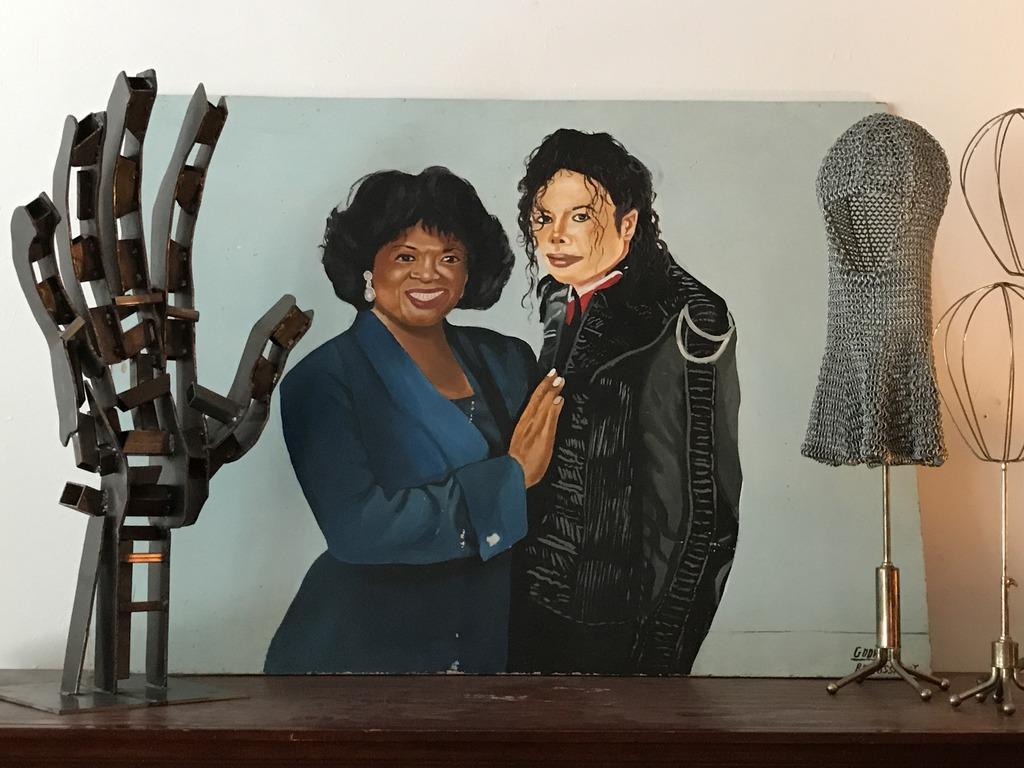 Michael and Katherine Jackson