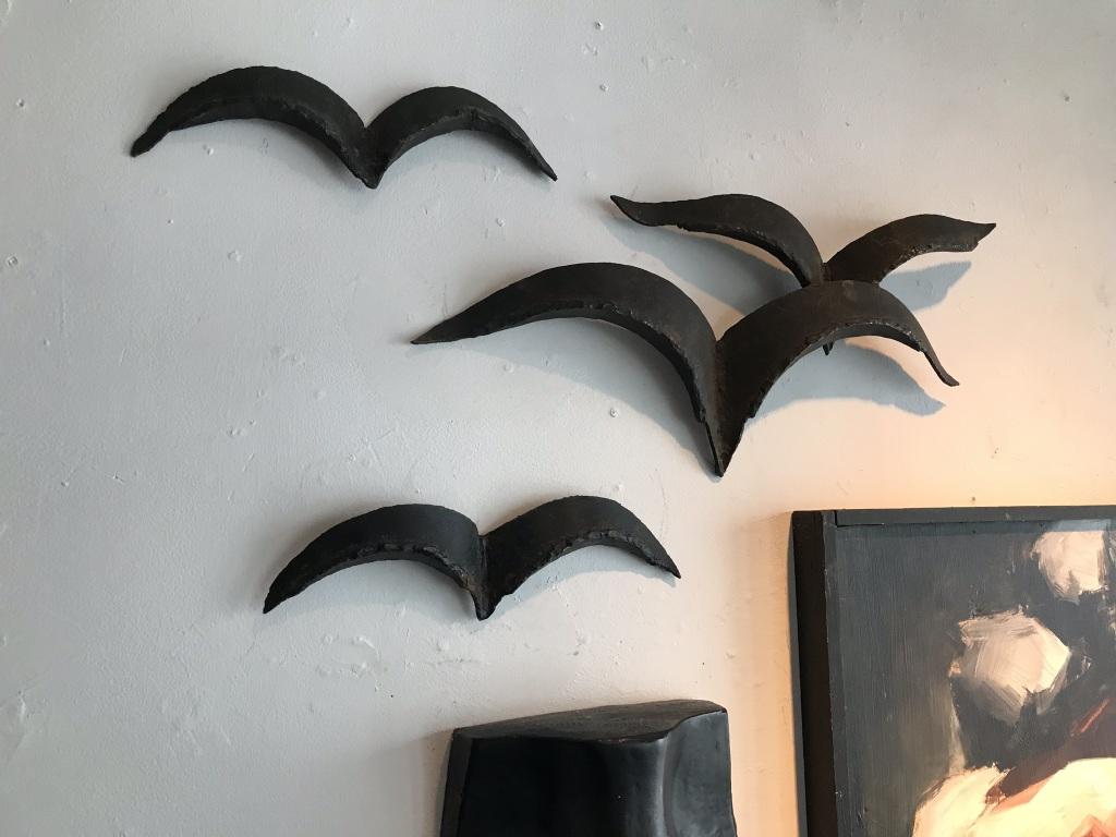 Metal Birds detail
