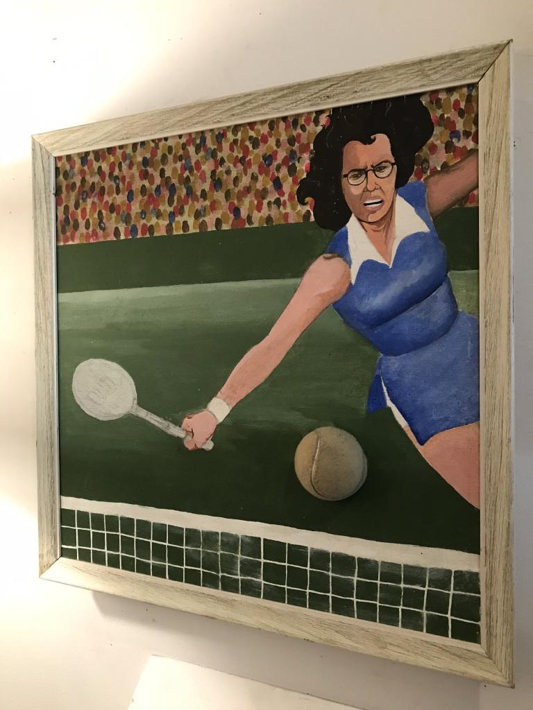 Billie Jean King Portrait