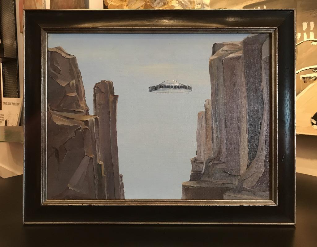 Spaceship Painting