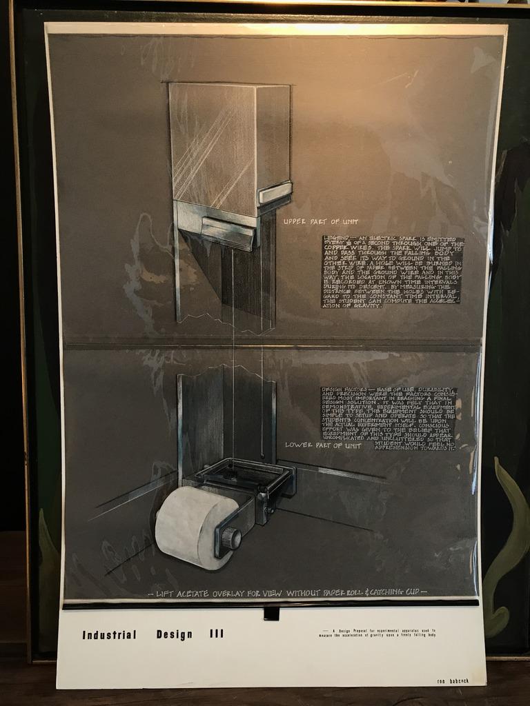 Toilet Paper Dispenser Rendering