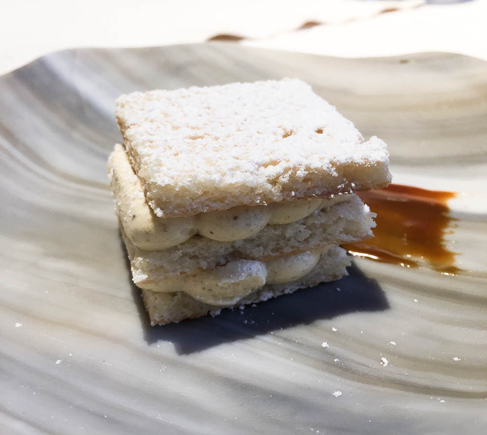 A take on milhojas, or as zee French say, mille-feuille