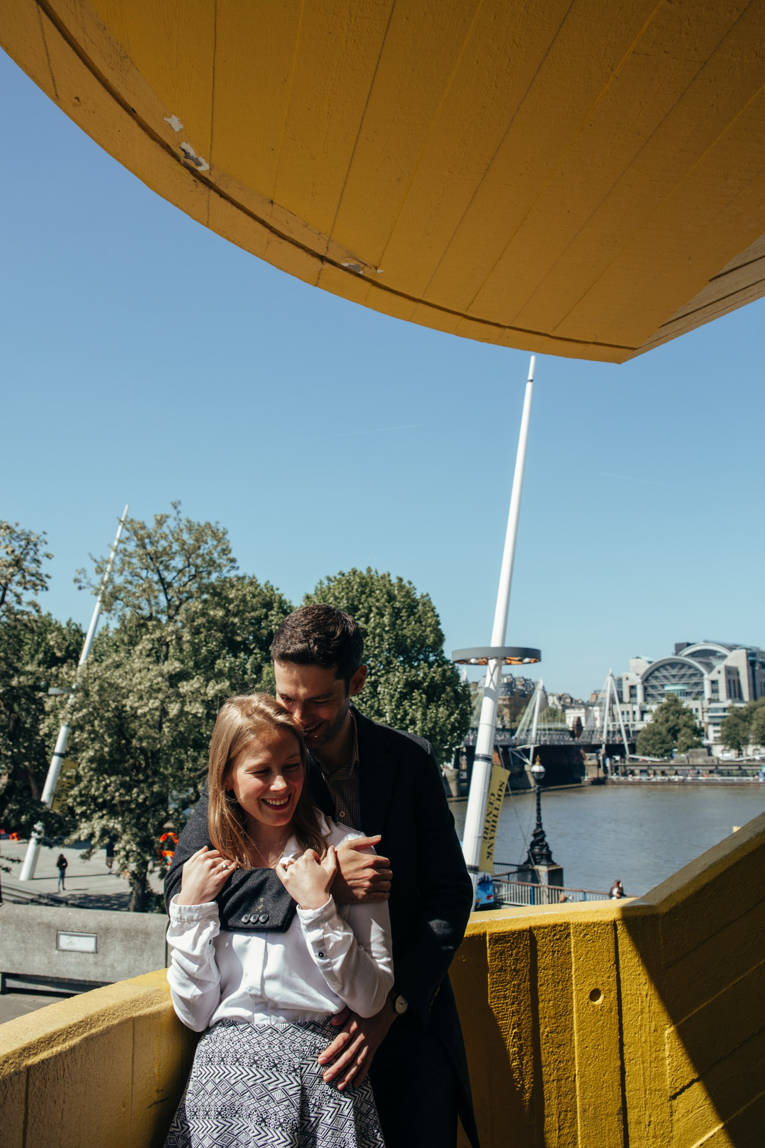 Eleanor + Gordon Pre-Wedding Shoot London Southbank NaomiJanePhotography-1.jpg