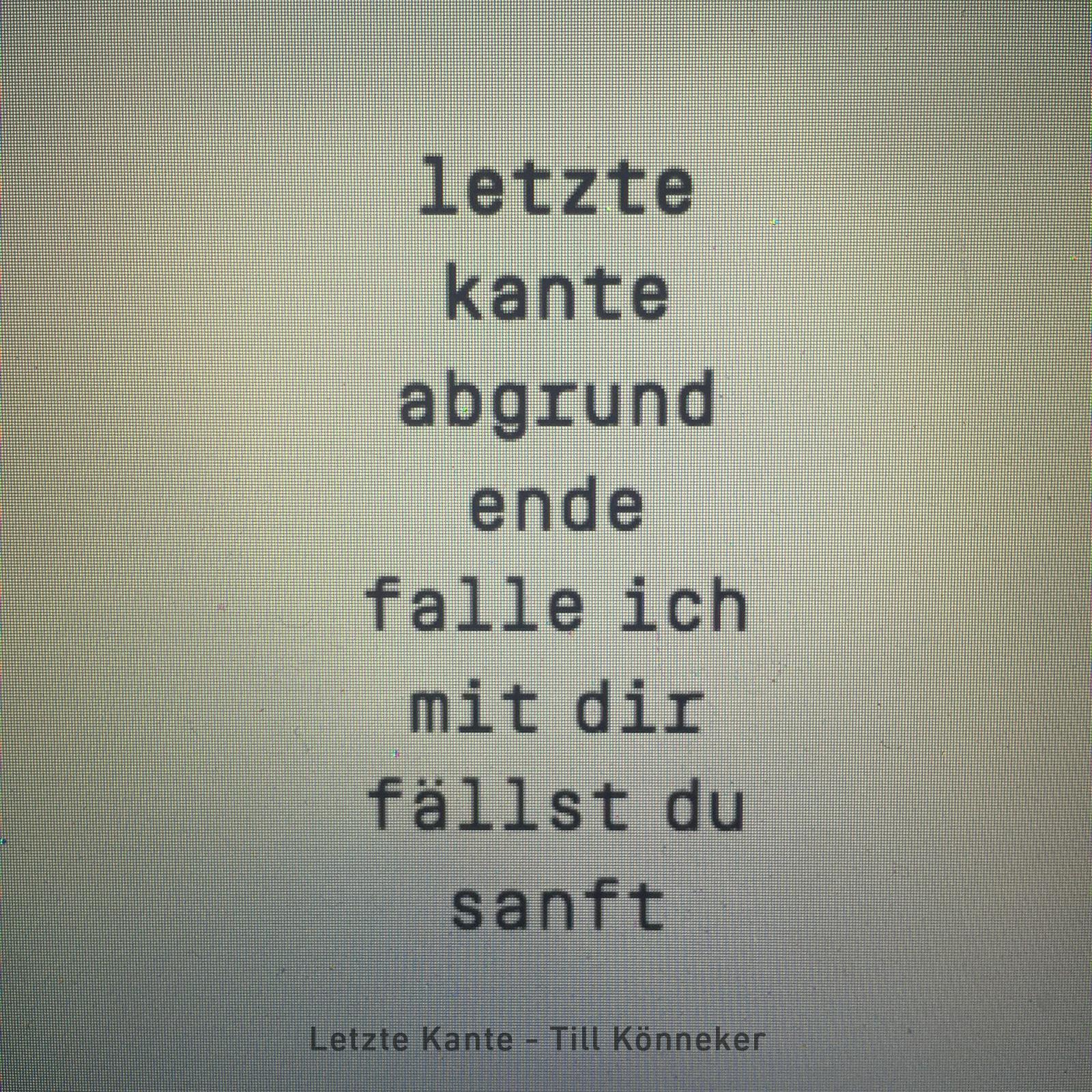 Letzte Kante - Till Könneker