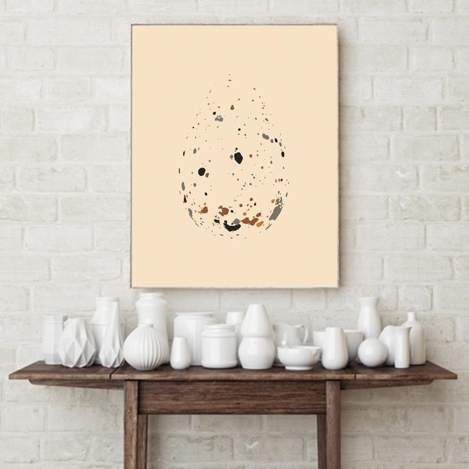 Eggjaplaköt • Egg Posters