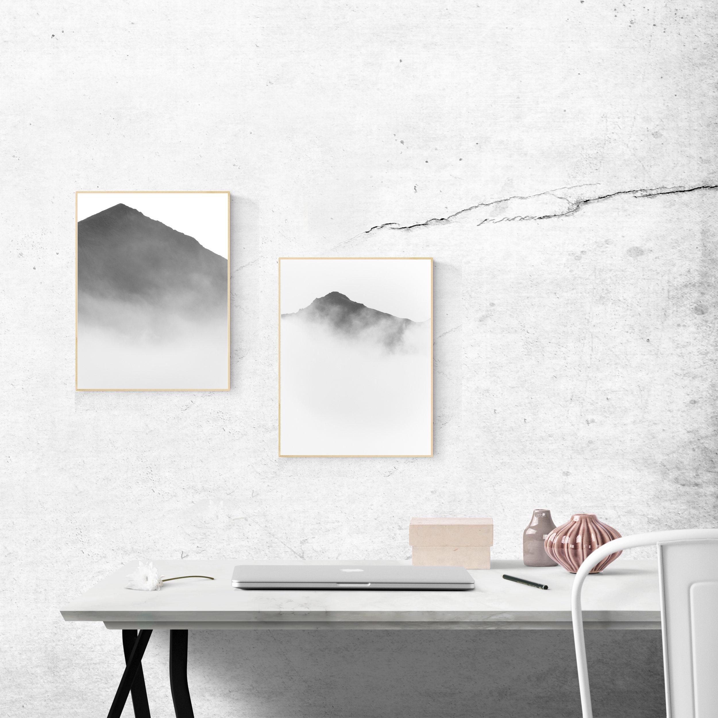 Fjallaplaköt | Mountain Posters