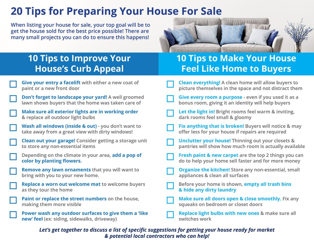 Sell My House In Ohio 20 Tips For Preparing Your House For Sale This Spring Real Estate Group