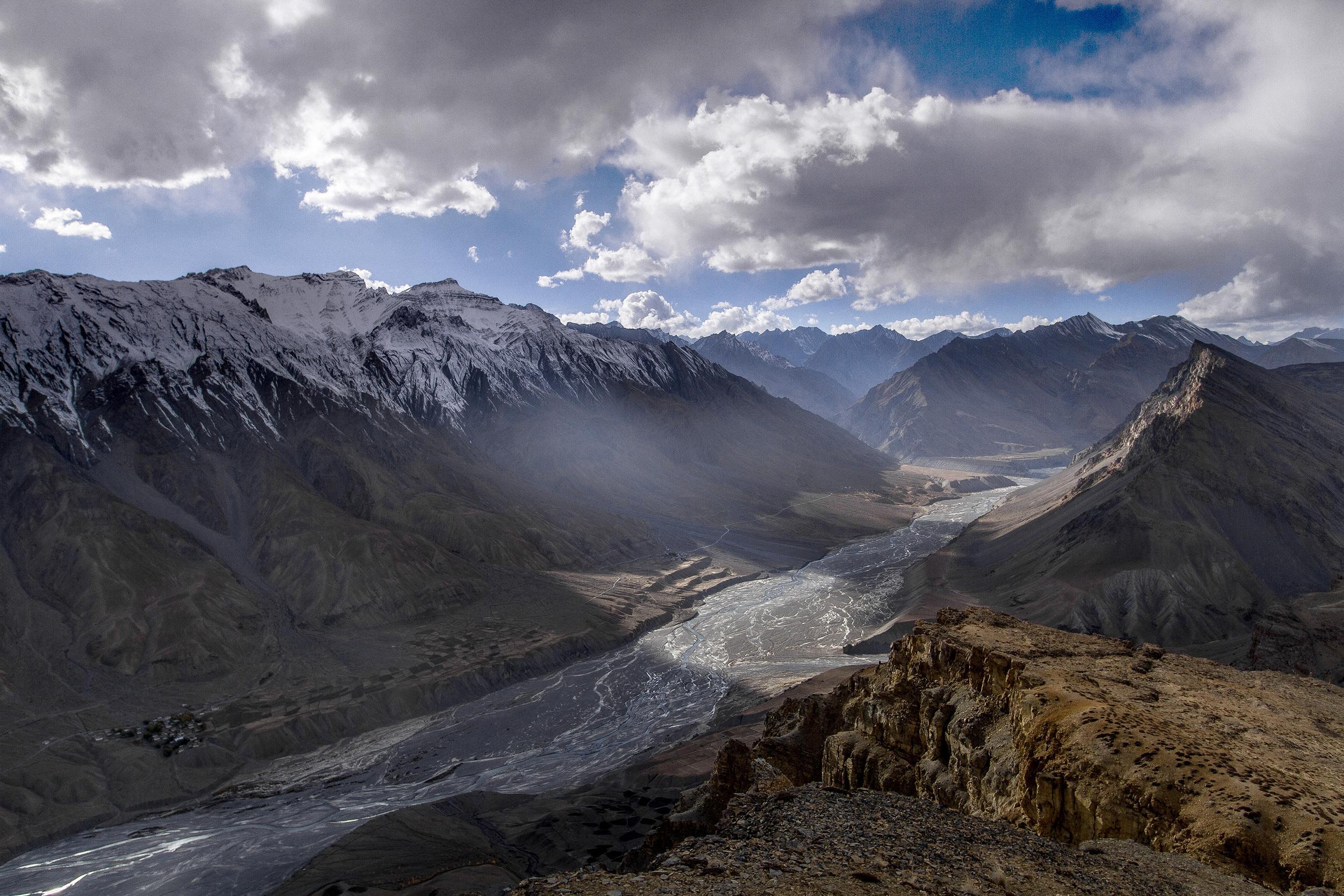 9 October, 2012 - Spiti Valley by Kibber Village ( 14,200ft)