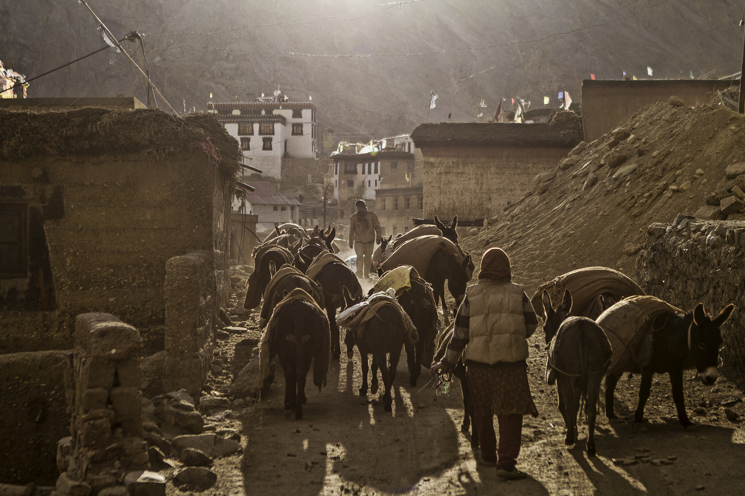 11 October, 2012 - Kibber Village   ( 14,200ft)    The highest perpetually inhabited village in the world.