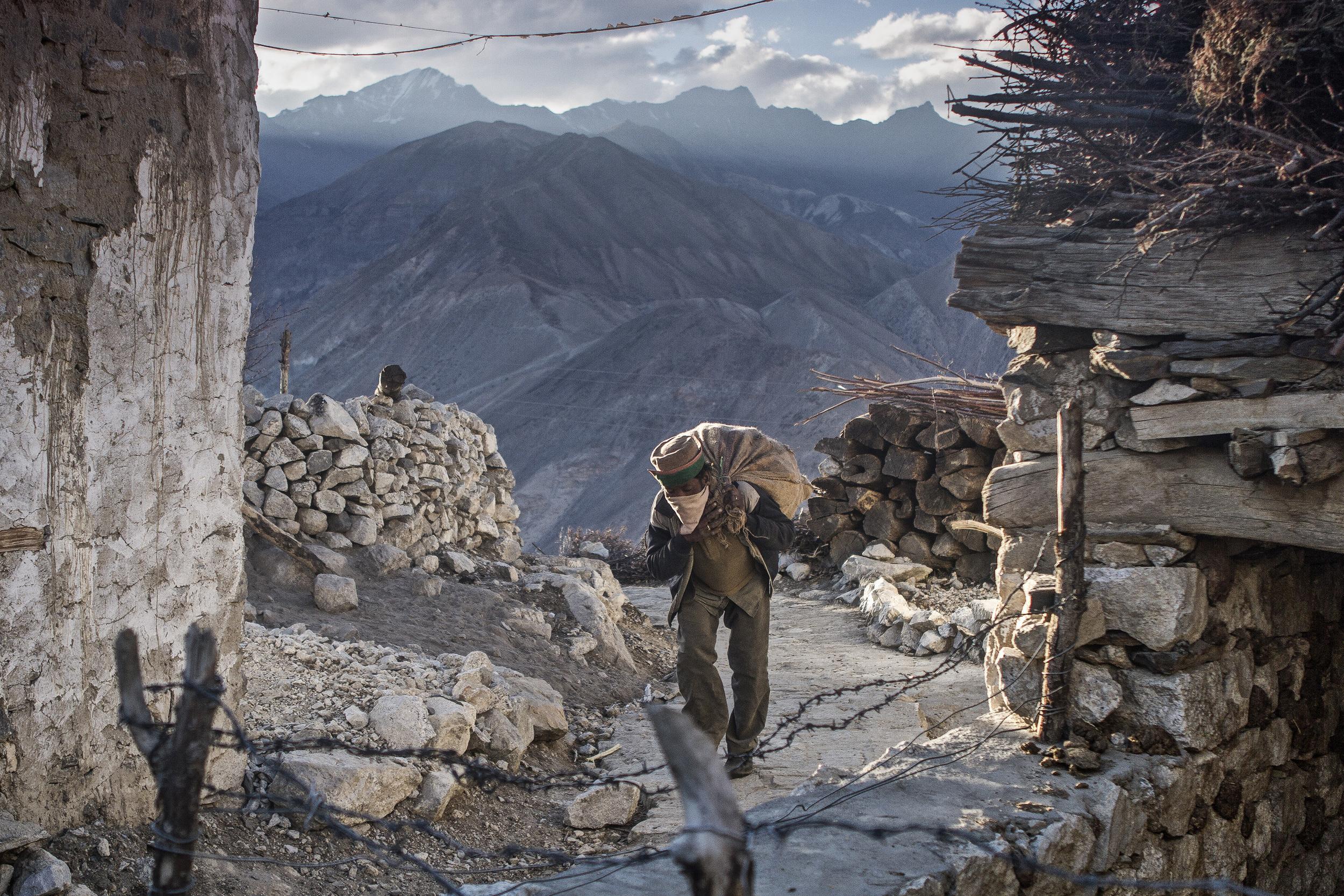 1 October, 2012 - Nako   Village (12,014ft)   Laborer