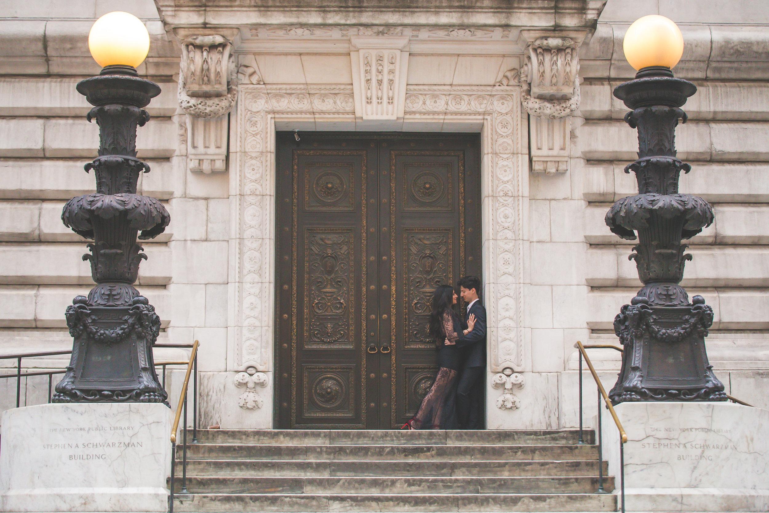 Brianna & Evan - Bryant Park