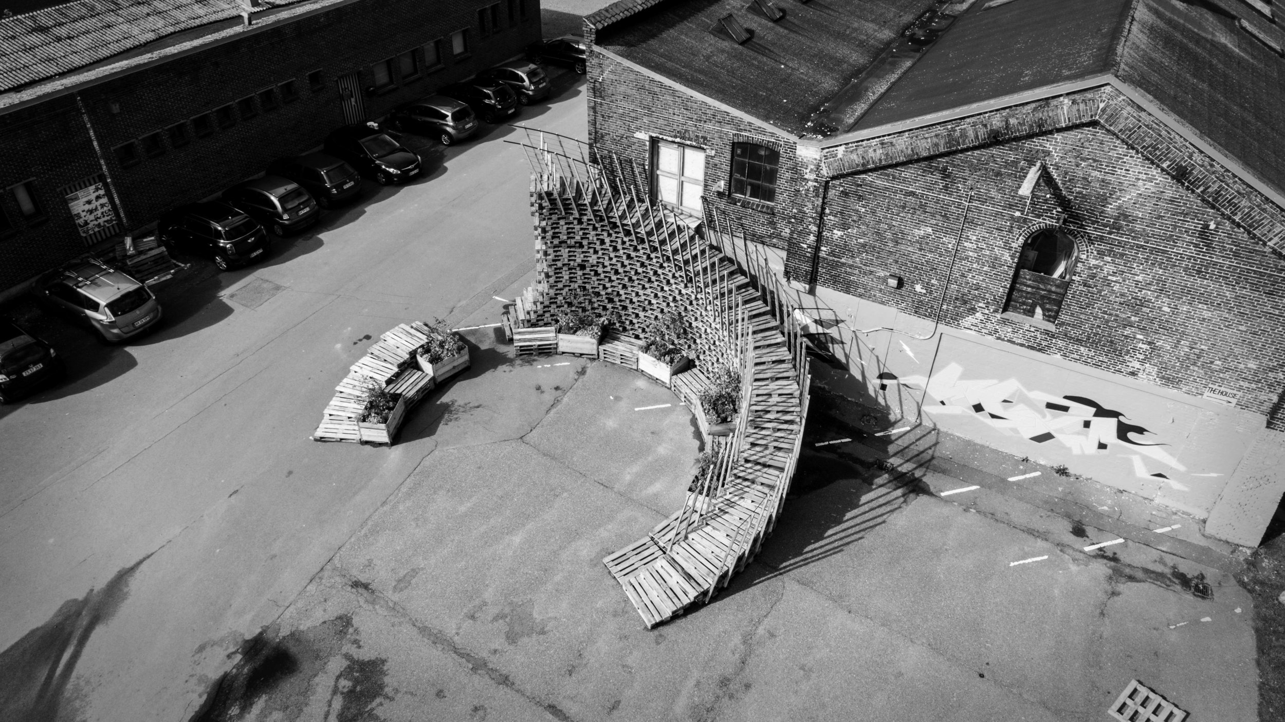 The Babel Stair designed by Alexander Coulson Baird and Hlynur Axelsson