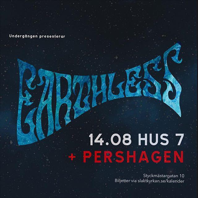 next week 🙌⚡️ @earthlessrips @klubbundergangen @hus7sthlm