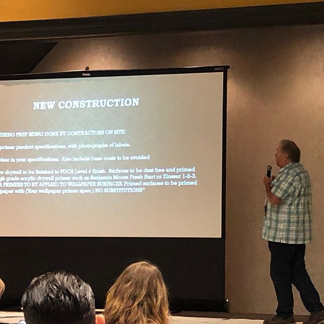 Phil Rhinhardt talks about site management today at the 2019 WIA annual convention.