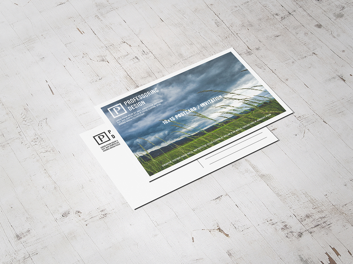 ECONOMY POSTCARDS   - Slower 5-6 day turnaround, but cheaper prices and thicker paper options.