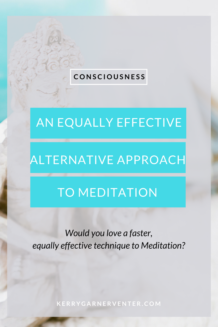 Equally effective alternative to meditation