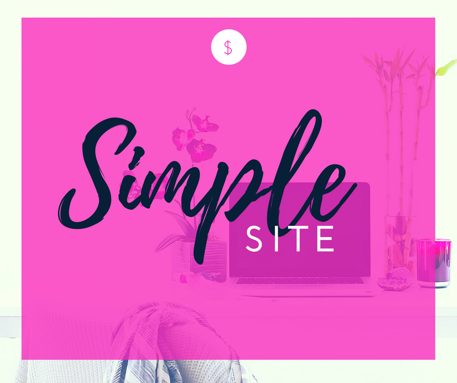 Not online yet? - Ideal if you're just starting out, on a budget and just need a professional presence online for your audience to find and get to know you•Up to 5 custom pages•Custom opt-in integration  Starts at $1500