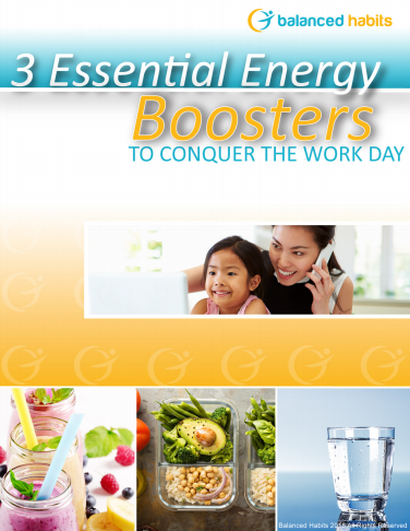 Click the Image Above to Receive your 3 Essential Energy Boosters