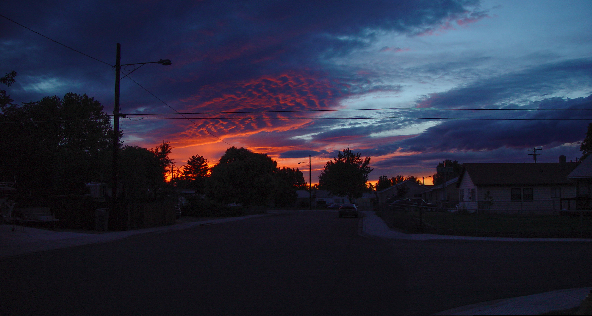 Sunset on Rural America , 2005