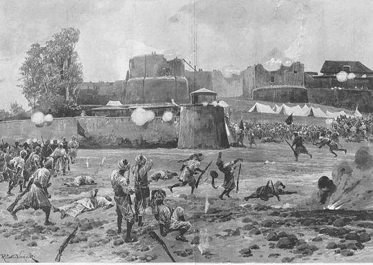 Shabkadr_Fort_outside_Peshawar_attacked_by_tribesmen.jpg