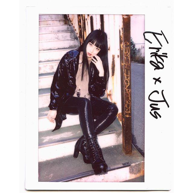 #portrait Erika @barkinstyleinc  #filmphotography  #tokyo #japan #tokyophotographer  #filmphotography  #filmportrait  #instax #instaxwide #fujifilm #fujifilminstaxwide