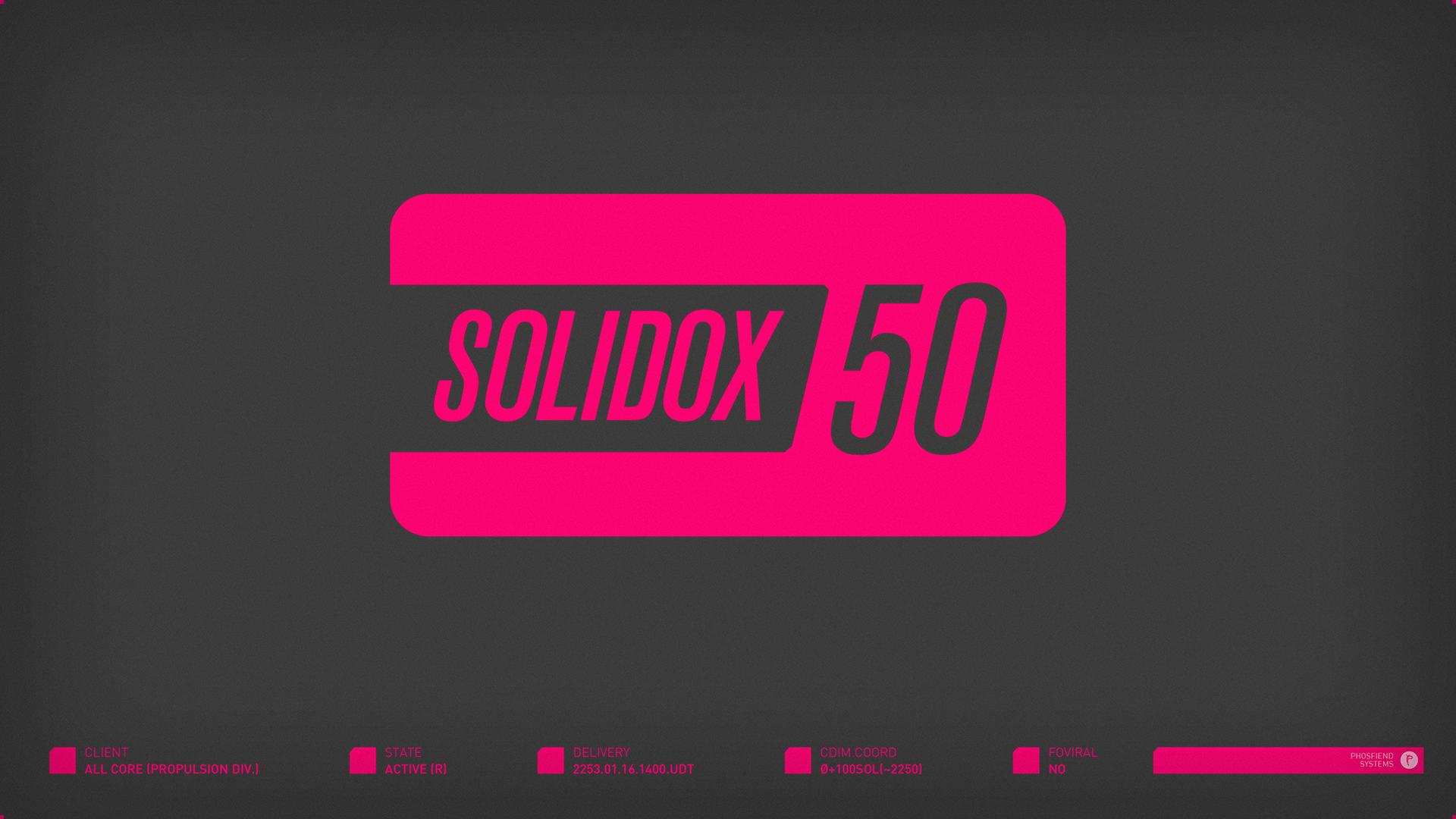 Solidox 50 for All Core Propulsion Division | circa 2253