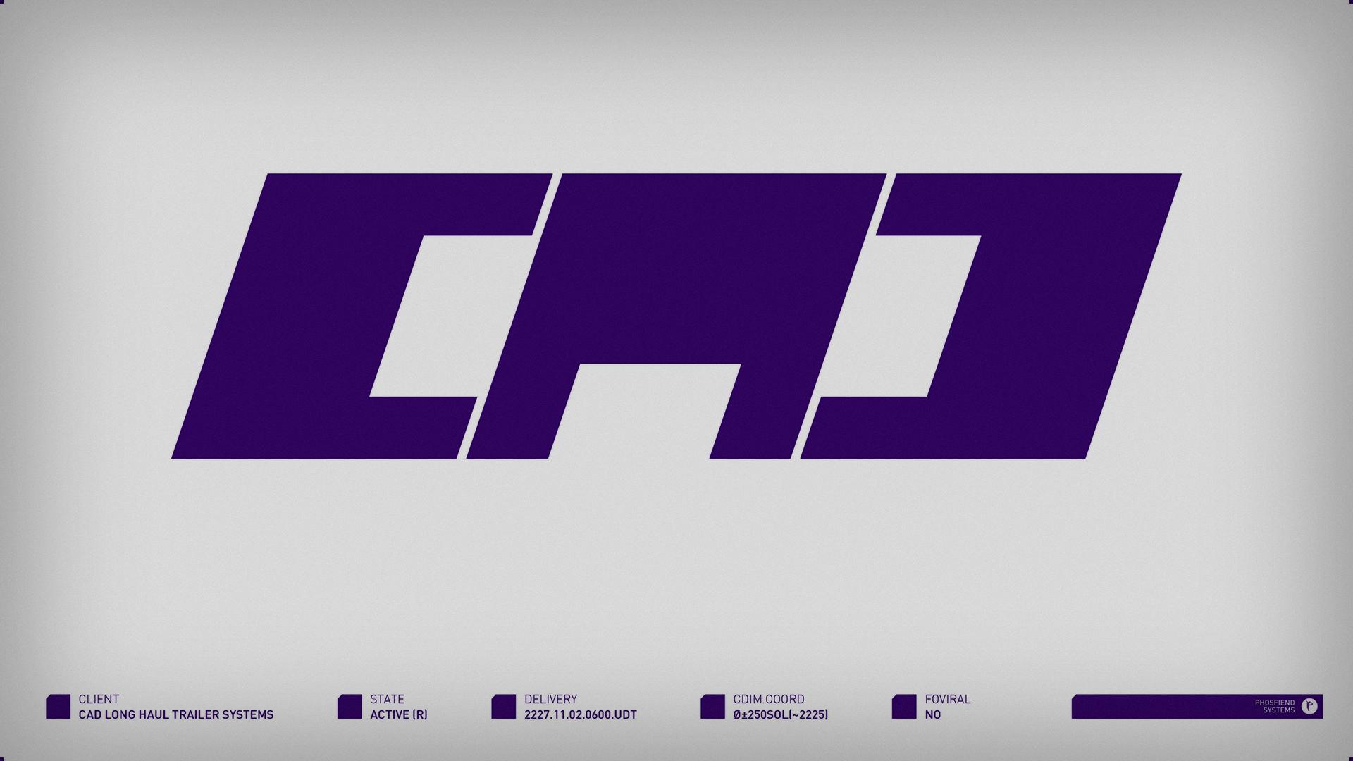 CAD Long Haul Trailer Systems | circa 2227