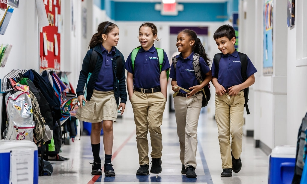 Enroll your child at Springfield Prep.     Learn More