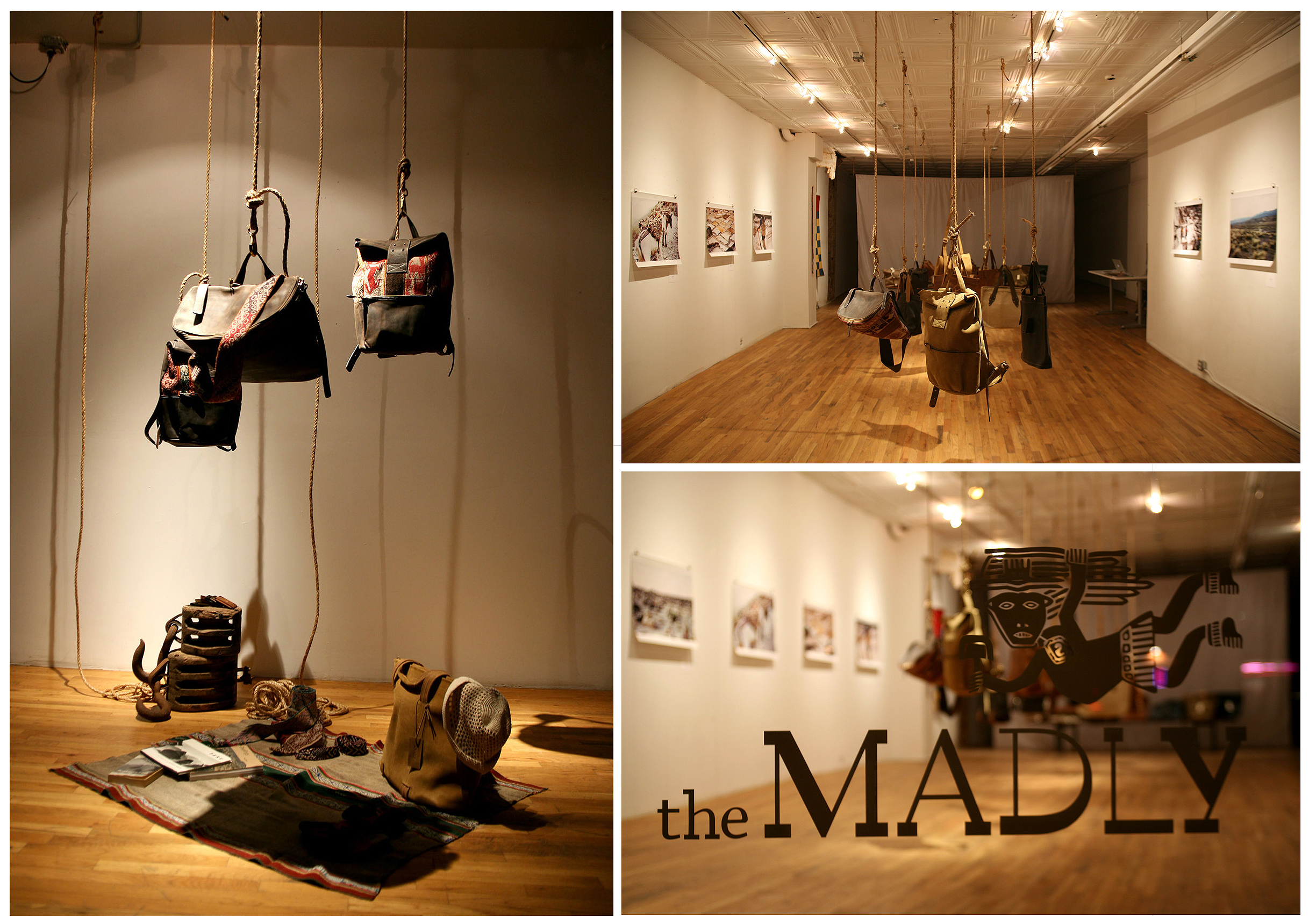 theMADLY Pop-Up Gallery Product and Space Design  |  the Bowery, NY