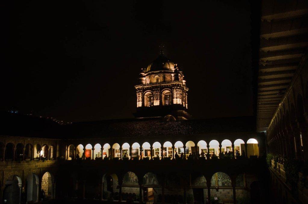 Qorikancha Museum, Cusco Peru - opening night