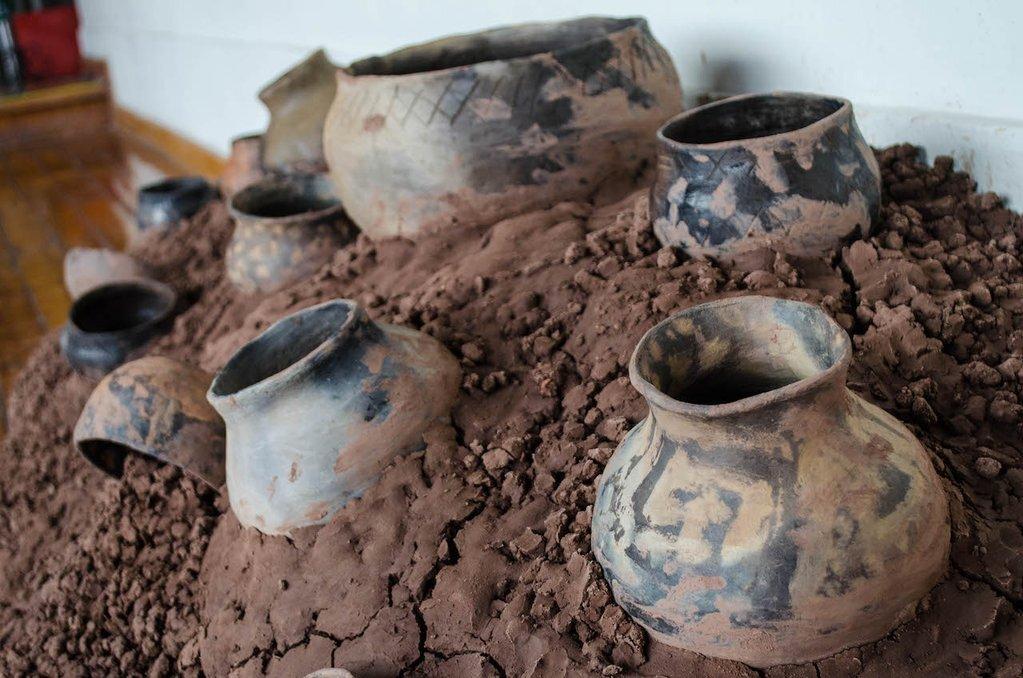 Clay Pottery Installation - Life Hall