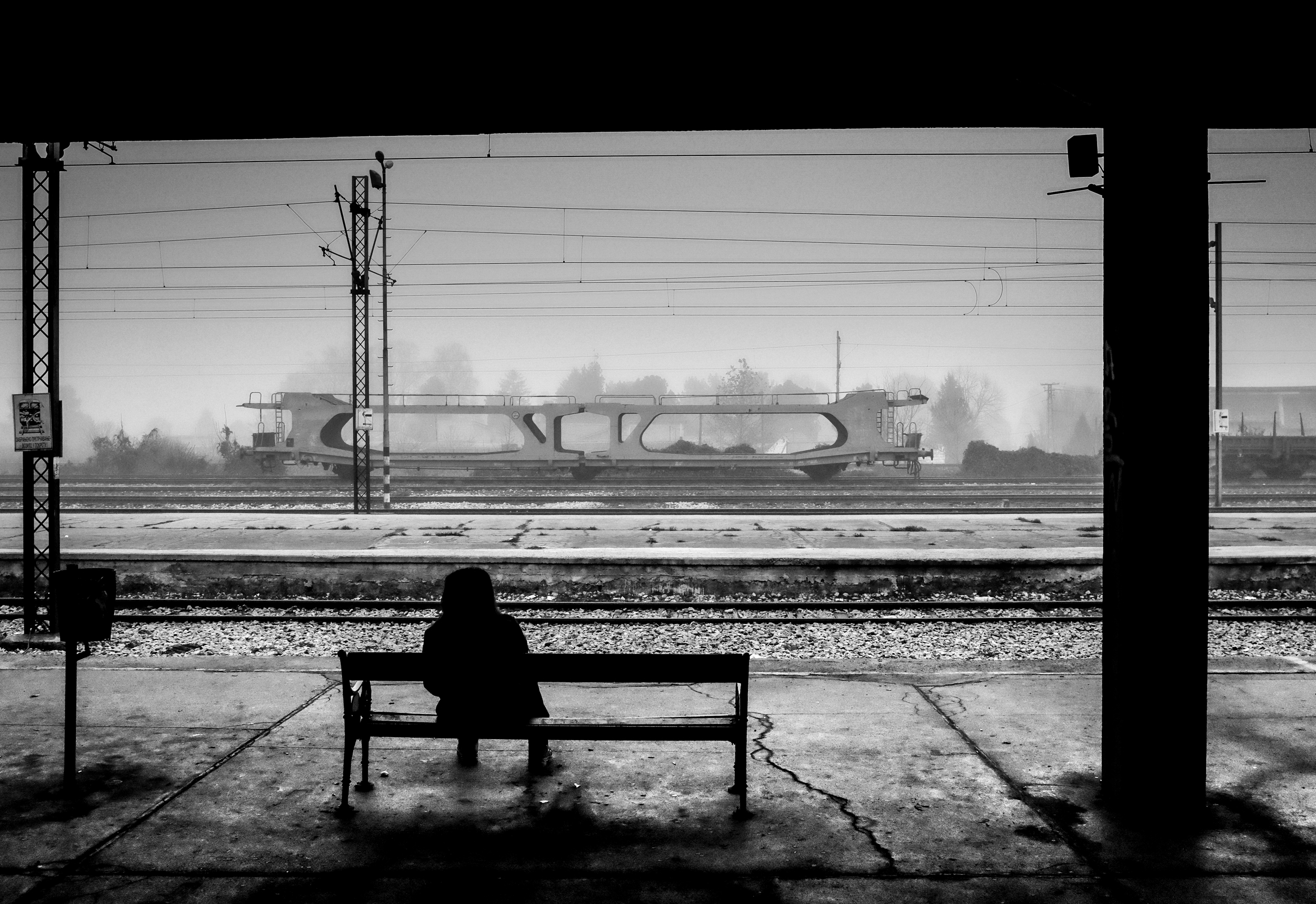 waiting for train that never comes