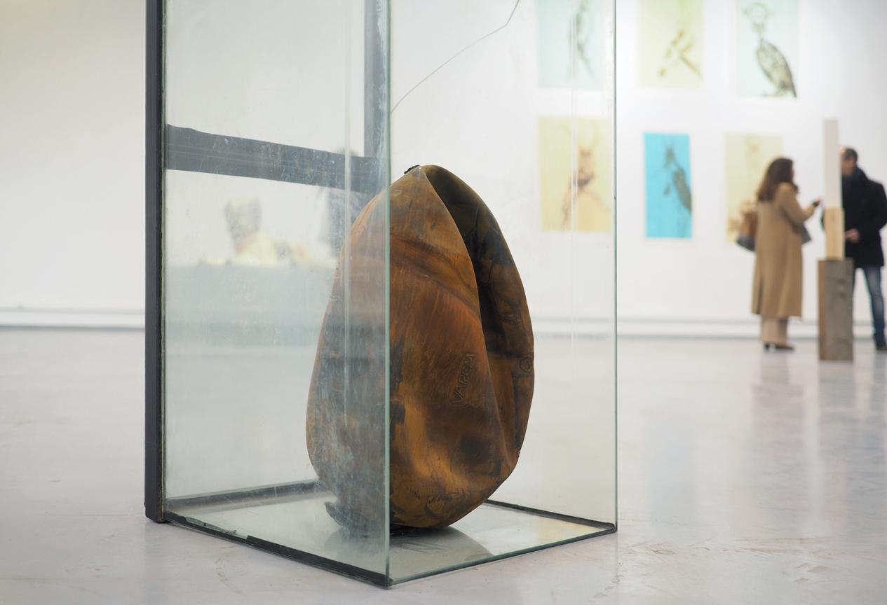 """Tudo o Resto"" - Group exhibition - Pavilion 31, Psychiatric Hospital Center of Lisbon, Lisbon 2017/ Image credits: Vasco Futscher"