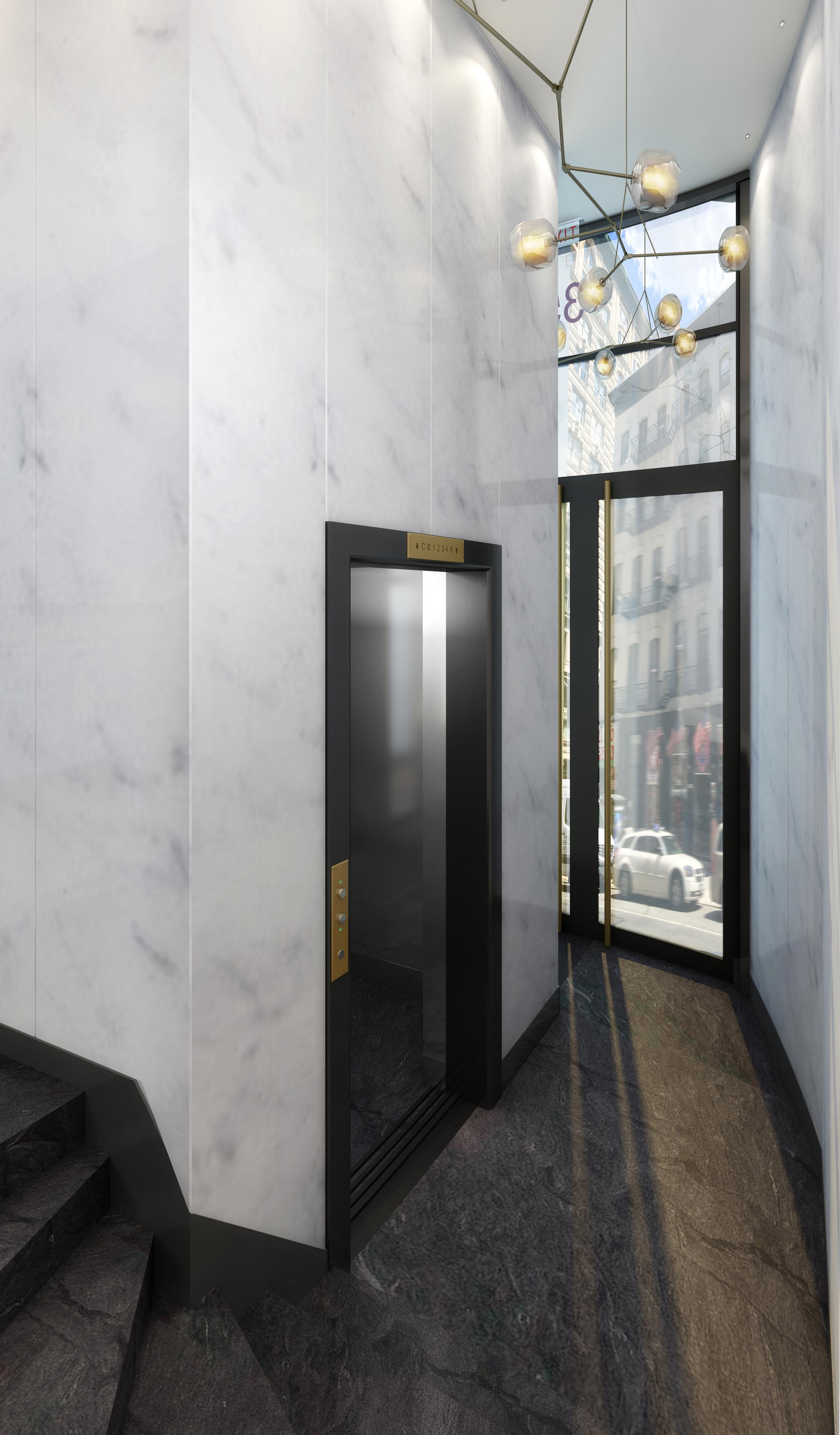 Broadway Lobby Interior Perspective