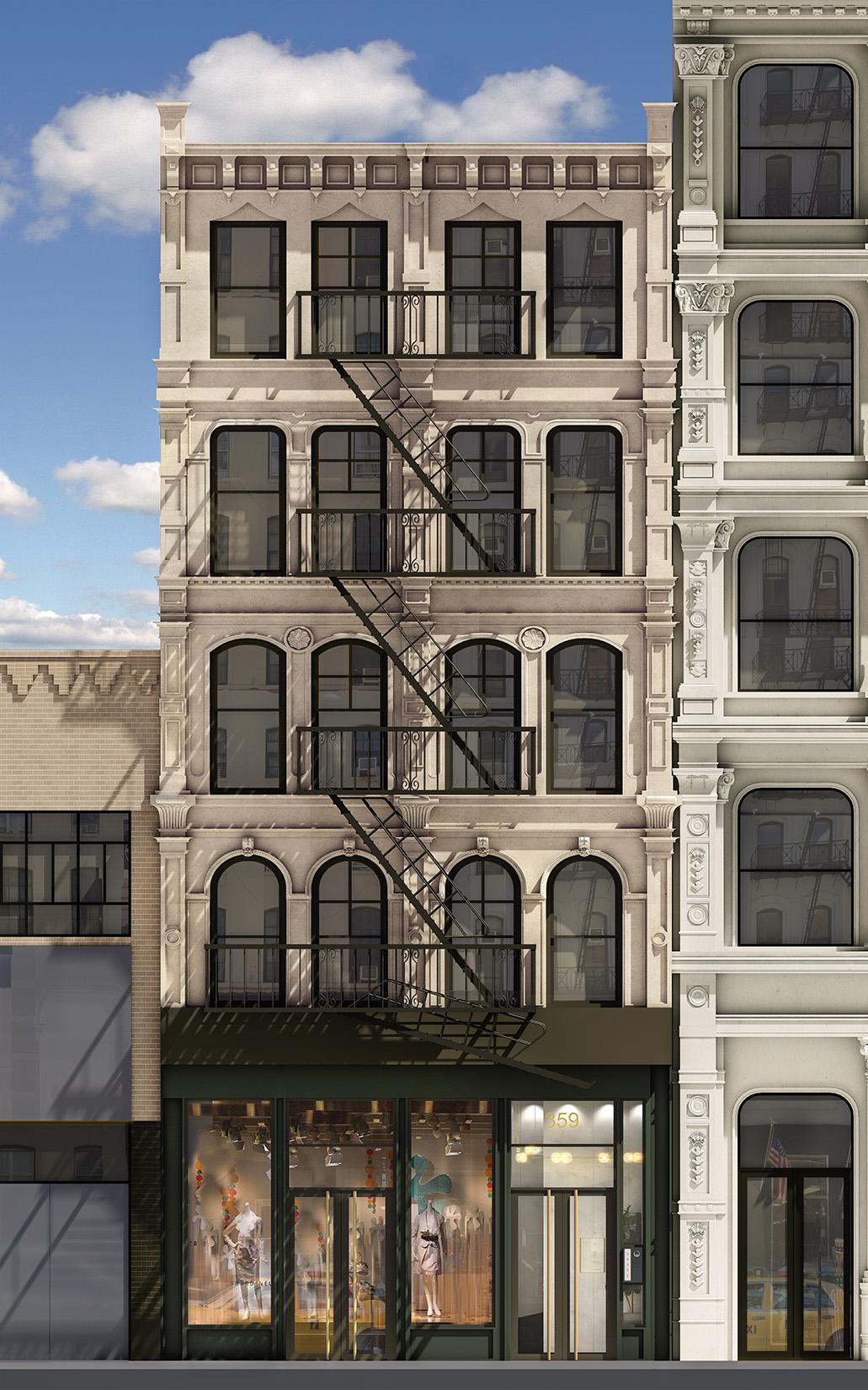 Broadway Storefront, Tribeca