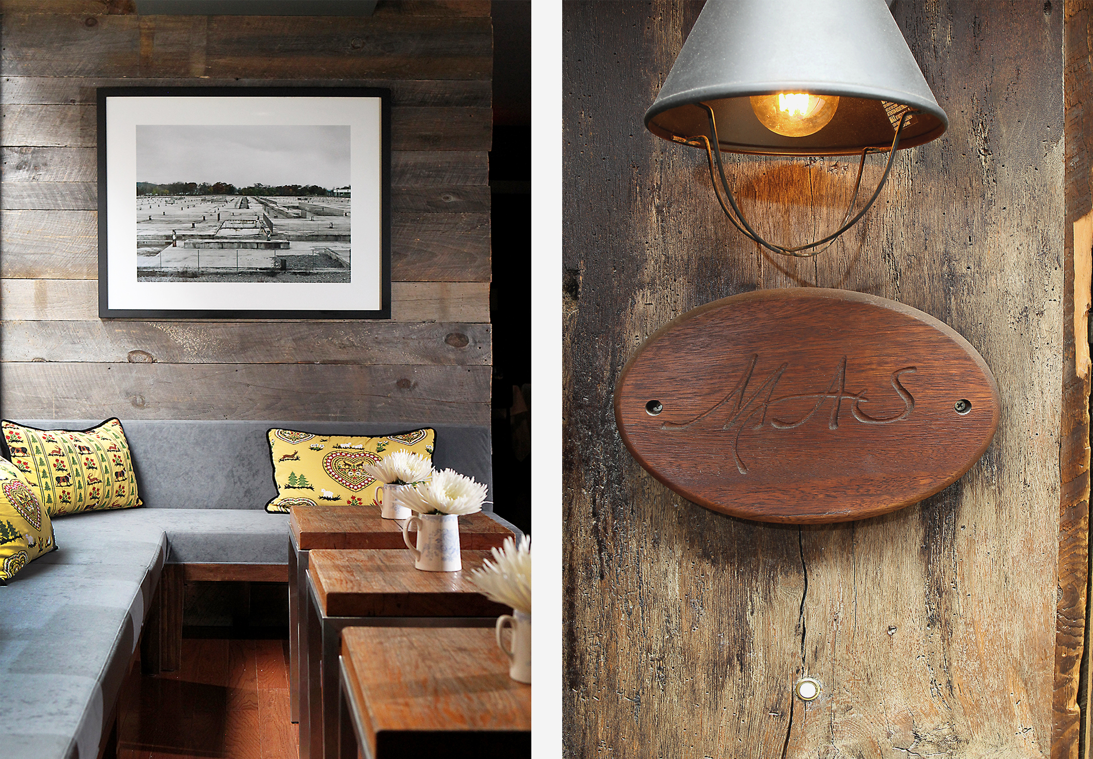 Mas (Farmhouse) Restaurant Interiors Fitout