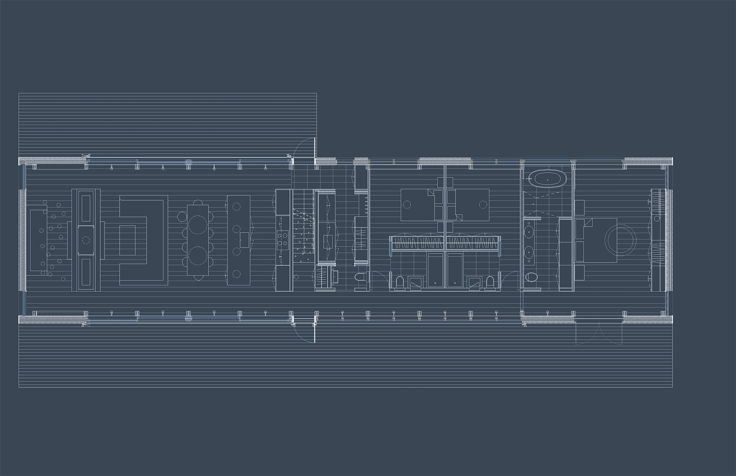 Mountain House - Ground Floor Plan