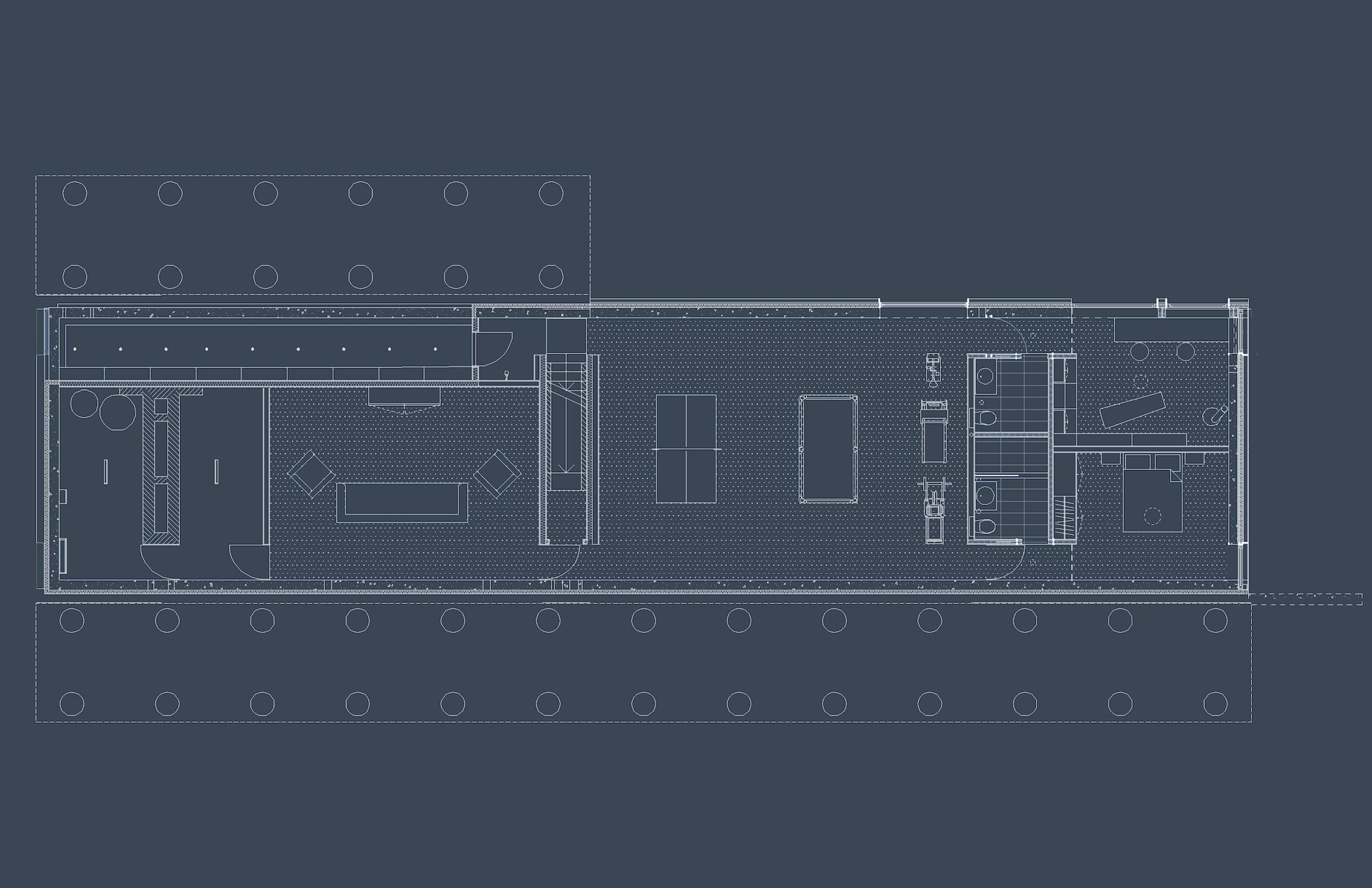 Mountain House - Basement Floor Plan