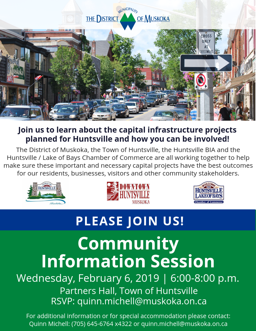 Community Information Session Invite - Huntsville_District Capital Projects.png