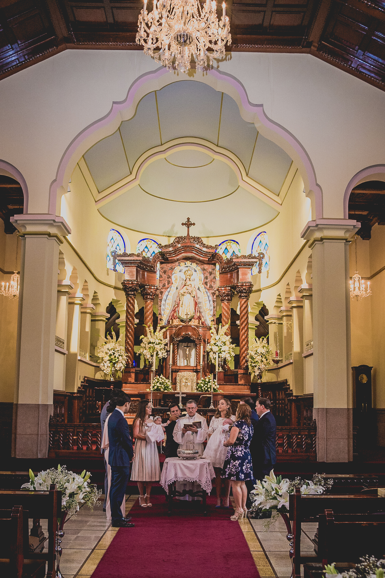 Fotografia de Bautizo en Santa Delfina Desgne Ciudad de Guatemala