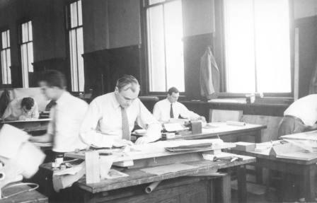 1- Philip Johnson at GSD-1940.jpg