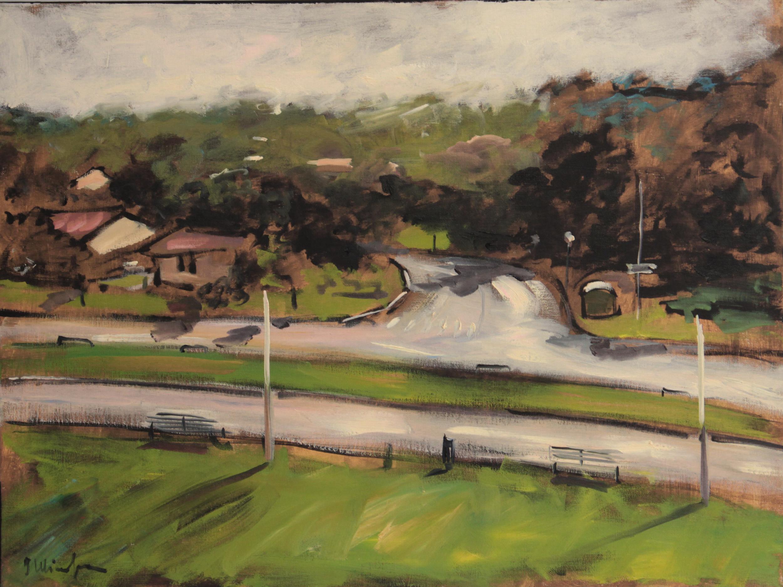 oil on canvas  60x80cm 2010