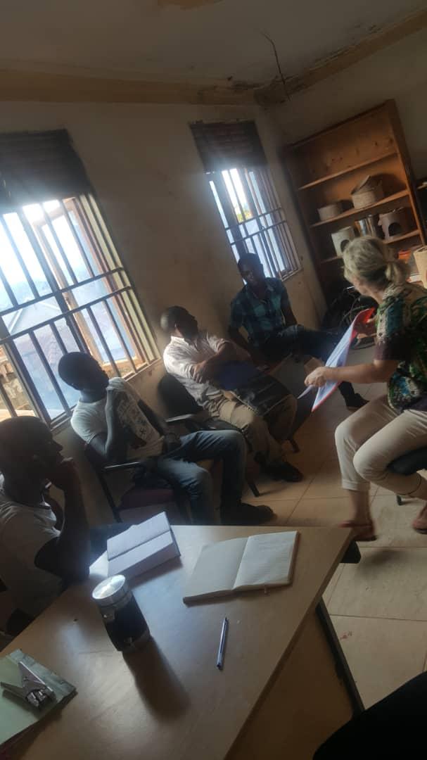 Training at Ugastove's office