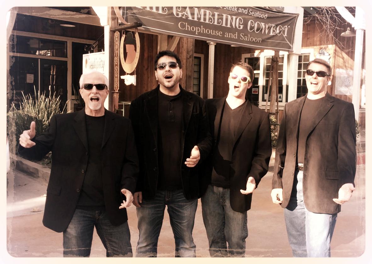 L-R: Mark Lewis, Nas Khan, Erik Gedney, Tim Gedney