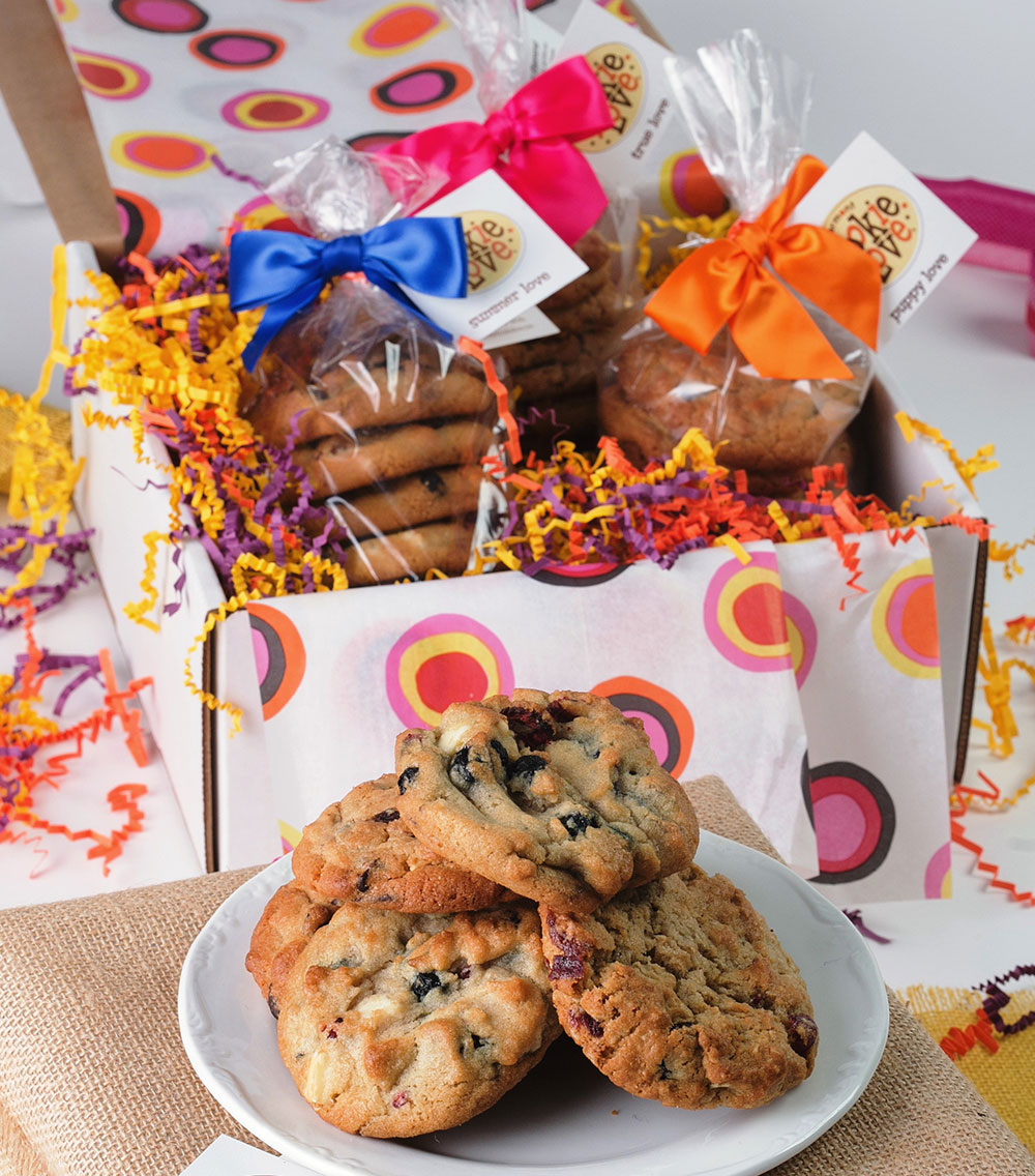 Wholesome Love Cookie Gift Box Vermont Cookie Love
