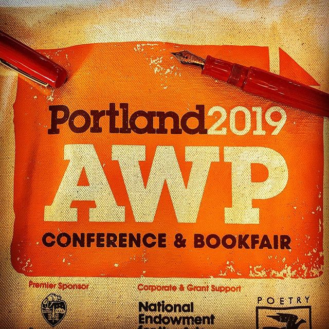 Yep, I'm at AWP, are you? #warrenwilsonmfa #spokenwordpoetry #longlivepoetry #poetryisart #ritsospoetry #cigaraficionados #fountainpen #thewritinglife #iowawritersworkshop #instapoet #poetrycommunityofig #poetrycommunity #deadpoetssociety #creativewriting #journaling #lovetoread #yannisritsos #charlessimic #prosepoetry #surrealistpoetry #shortpoem #ilovepoetry #poet #poem #theparisreview #boaeditions #sarabandebooks #poetryisnotdead