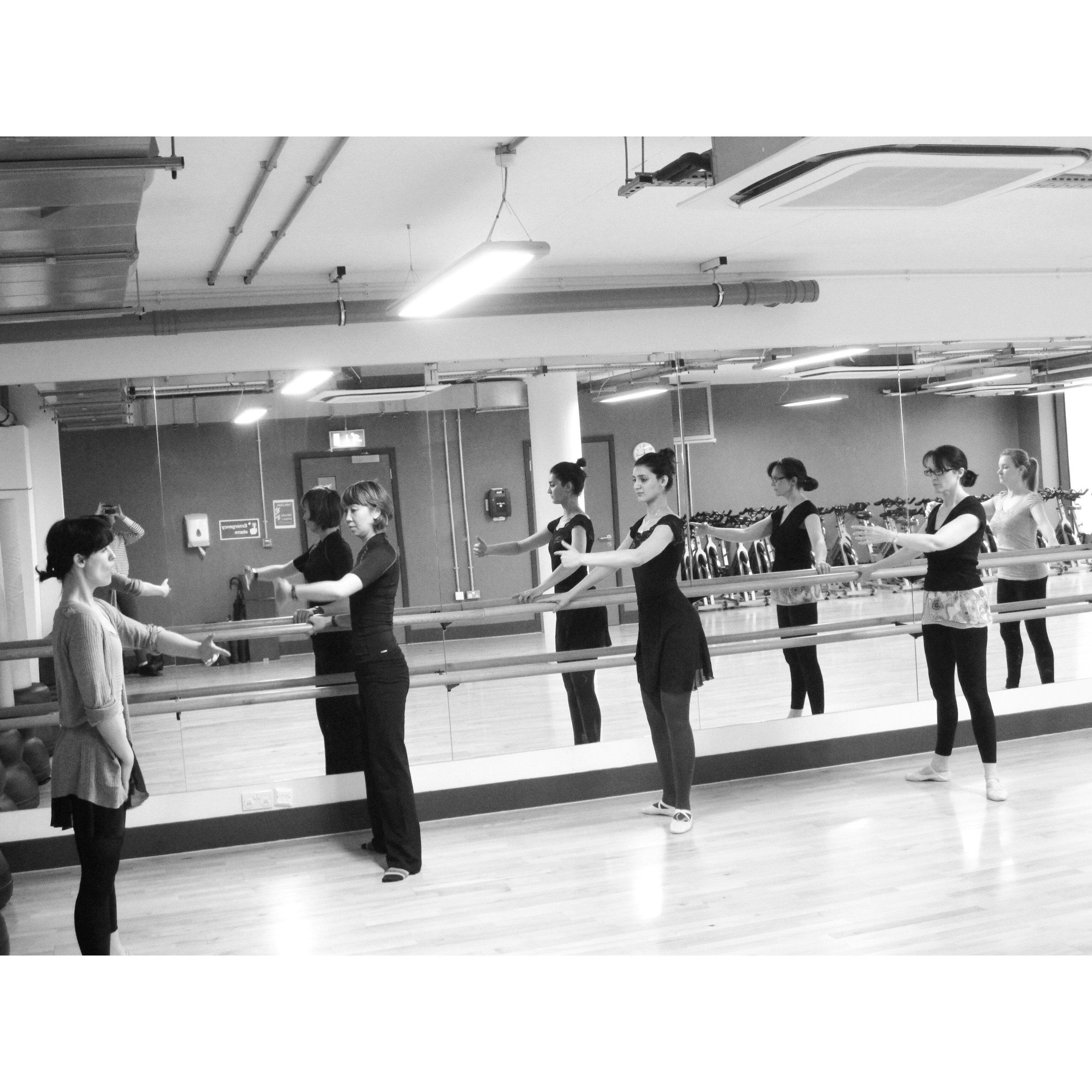 Adult ballet, Dance Buzz, Marshall Street Leisure Centre